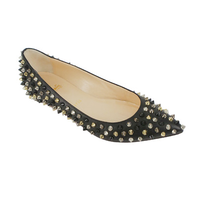 £292.74 • Buy Christian Louboutin | Pigalle Spiked Ballet Flats Size: 36.5