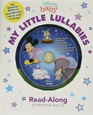 £8.51 • Buy Disney Baby My Little Lullabies Read-Along Storybook And CD  New Book Disney Boo