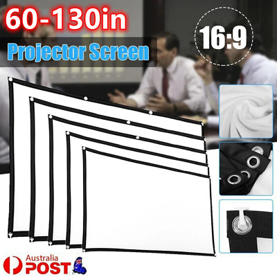 AU20.23 • Buy Portable Foldable Projector Screen 16:9 HD Outdoor Home Cinema Theater 3D Movie$