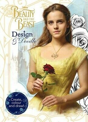 £2.48 • Buy Disney Beauty And The Beast Design & Doodle: Create, Colour And Draw!  Good Book