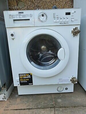 £110 • Buy Zanussi ZWT71201WA Fully Integrated Washer Dryer 7/4  120rpm