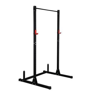 £85.55 • Buy Professional Adjustable Height Barbell Rack Power Cage Weight Lifting Equipment