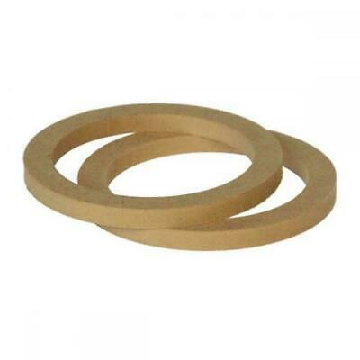 £8.91 • Buy 5.25  130mm Pair Of MDF Speaker Spacer Mounting Rings 12mm Thick ID 118mm