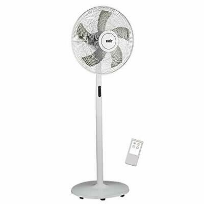 £69.97 • Buy ANSIO Pedestal Fan With Remote Control - 8 Speed Level -16 Inch - White