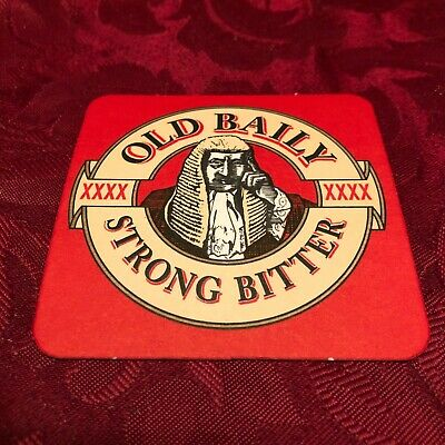 £1.25 • Buy Breweriana - Mansfield Brewery - Old Baily - Xxxx Strong Bitter - Beer Mat - T12