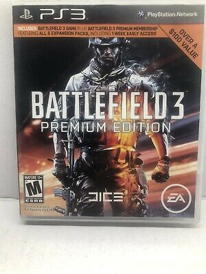 £4.36 • Buy Battlefield 3 -- Premium Edition (PlayStation 3, 2012) Complete Tested Working