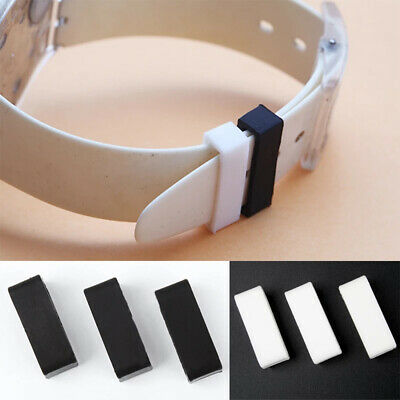 £2.99 • Buy Silicone Strap Band Keeper Loop Ring For Garmin Vivoactive 3 4 Foreruner 245 645