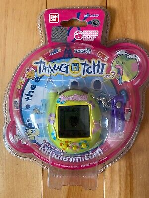 $ CDN275 • Buy Bandai Tamagotchi Connection Brand New V3 Green Flowers Asia Exclusive