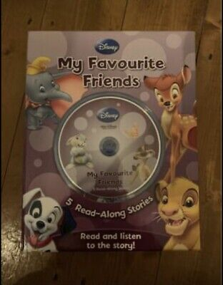 £2.49 • Buy 5 Disney Read Along Story Books With CD- Like New