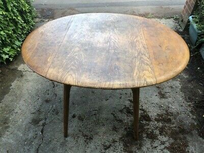 £39.99 • Buy Vintage Wooden Dining Table 1960s / 1970s For Restoration Repair Upcycling