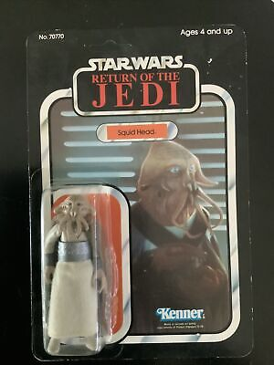 $ CDN251.77 • Buy Star Wars Squid Head 1983 Vintage Moc Clear Bubble Unpunched