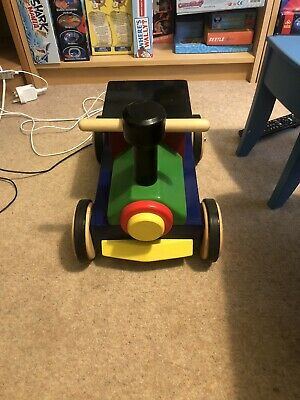£25 • Buy John Crane Ride On Solid Wooden Train. From Cole Brothers. Very Good Condition