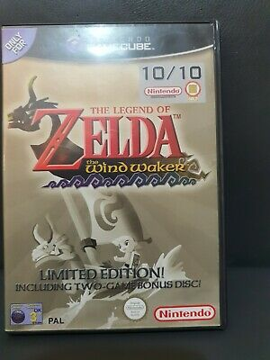 £20 • Buy The Legend Of Zelda: The Wind Waker - Limited Edition Gamecube + Ocarina Of Time