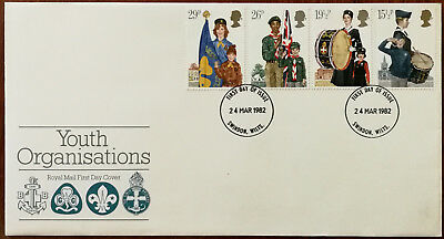 $4.76 • Buy Youth Organisations Royal Mail First Day Cover / FDC With Insert 24th March 1982