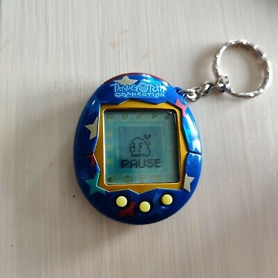 $ CDN41 • Buy Tamagotchi Connection V2 - Blue With Stars. Tested & Working!