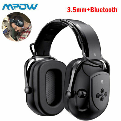 £27.99 • Buy Mpow Bluetooth Headphones Safety Ear Muffs Electronic Ear Defenders For Shooting