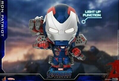$ CDN37.75 • Buy Hot Toys Cosbaby Marvel Avengers Iron Patriot COSB656 Light Up Function