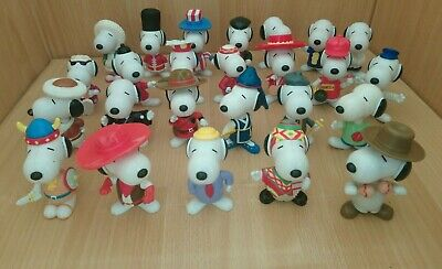£2.99 • Buy McDonalds Happy Meal Toy 2000 Snoopy Plastic Figures - Various  Country's