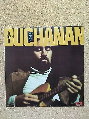 £3.45 • Buy Roy Buchanan - That's What I Am Here For - PD-6020 - LP Vinyl Record