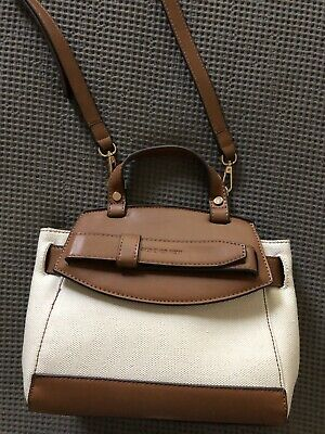 AU30 • Buy Forever New Sienna Canvas Top Handle Bag