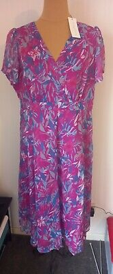 £16 • Buy  Penny Plain Ladies Lined Bloomingdale Dress - Size 18S  - New