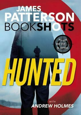 AU5.16 • Buy Hunted By James Patterson With Andrew Holmes (Book Shots) EE4482