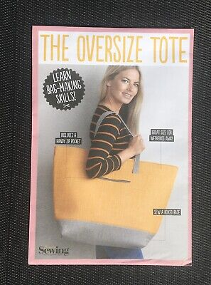 £5.99 • Buy Simply Sewing The Oversize Tote Bag  Sewing Pattern New And Sealed Uncut
