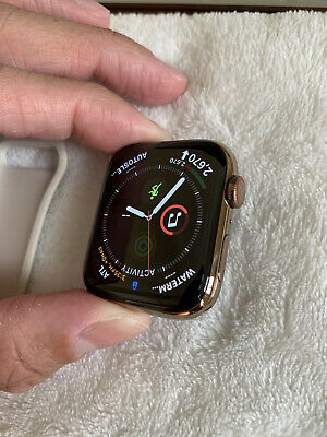 $ CDN440.60 • Buy Apple Watch Series 4 44 Mm Gold SS (GPS+ LTE) Pristine Condition And Hardly Worn