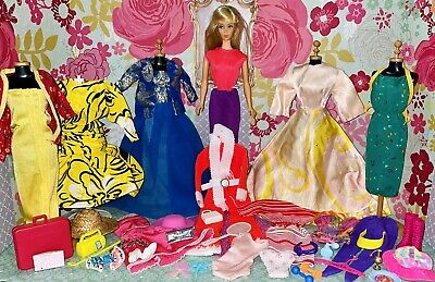 $ CDN64.20 • Buy Vintage TNT Barbie Doll With Clothes Lot