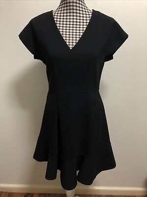 AU35 • Buy FOREVER NEW DRESS BLACK FIT AND FLARE BUSINESS OFFICE DRESS, Sz 10