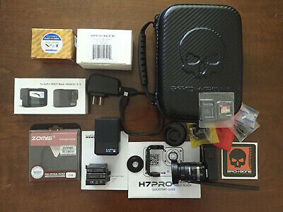 $ CDN550 • Buy Preowned H7PRO MODIFIED GOPRO HD HERO7 BLACK - Complete Kit With Extras
