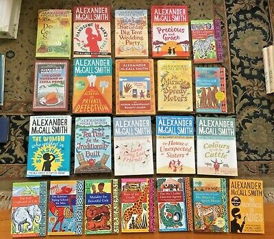 AU75 • Buy 22 X ALEXANDER McCALL SMITH Novels From The No.1 LADIES DETECTIVE AGENCY Series