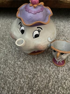 £12.50 • Buy Disney 4049622 Traditions Mrs Potts And Chip Sculpture