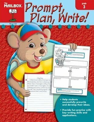 $25.49 • Buy PROMPT, PLAN, WRITE! (GR. 3) BY MAILBOX BOOKS STAFF (2007) **Mint Condition**