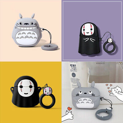 £11.19 • Buy Anime Design Totoro Bleach Hollow Protective Case For Apple Airpods 1 2 Pro