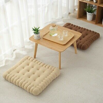 AU11.99 • Buy 40x40cm Seat Cushions Square Soft Chair Pad Mat Dining Garden Patio Decoration