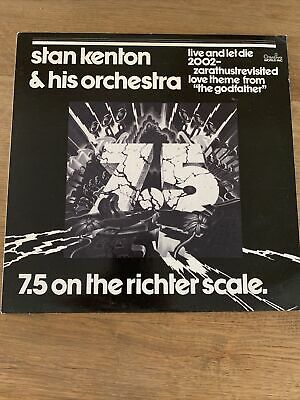 """£4.99 • Buy Stan Kenton & His Orchestra - 7.5 On The Richter Scale - 12"""" LP - JAS201"""