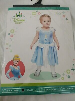 £8 • Buy Deluxe Disney Princess Costume Girl Fairytale Fancy Dress Outfit Baby NEW