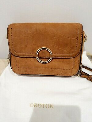 AU109 • Buy OROTON Ashbury Shoulder Bag Rrp $445 New Without Tags
