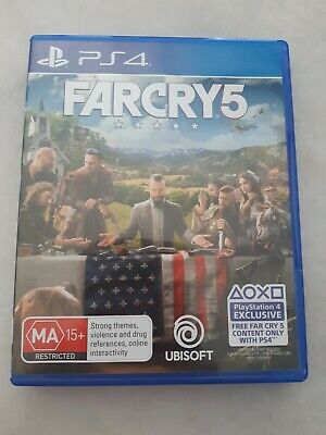 AU9.50 • Buy PlayStation 4 Games (PS4) - Far Cry 5 Great Condition