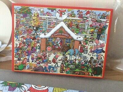 £1.20 • Buy 1000 Piece Jigsaw Puzzles Complete Santa's Grotto Very Enjoyable