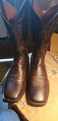$ CDN37.70 • Buy Mens Harley Davidson Square Toe Western Riding Leather Boots..10m