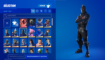 $ CDN1005.82 • Buy Fn Account With Black Knight +130 Skins + Save The World + 1500$ Spend