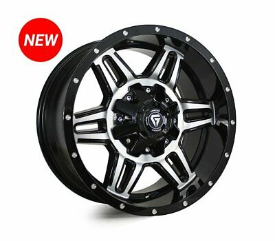 AU1320 • Buy LDV T60 WHEELS PACKAGE: 17x9.0 Grudge Offroad SIEGE And Rapid Tyres