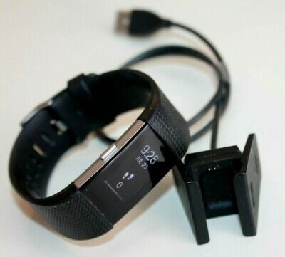 $ CDN11.27 • Buy Fitbit Charge 2 Activity Tracker + Heart Rate  Black Color Unisex