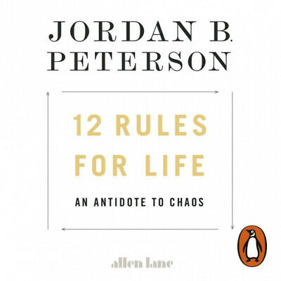 AU36.27 • Buy 12 Rules For Life: An Antidote To Chaos [Audio] By Jordan B. Peterson