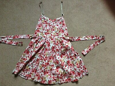 £7.99 • Buy Wal G Red Floral Summer dress