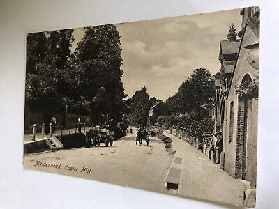 £1.45 • Buy Maidenhead.  Castle Hill.  Berkshire.  1909 Posted Postcard