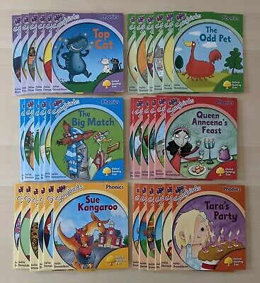£25 • Buy Oxford Reading Tree ORT Songbirds Phonics Stages 1-6 FULL SET - 36 Reading Books