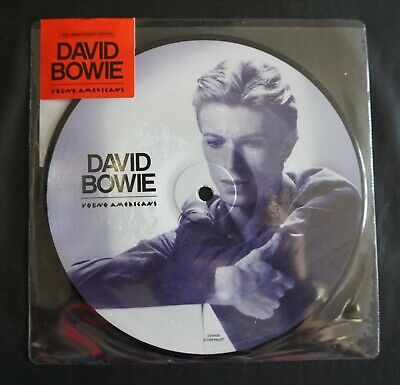 £10 • Buy David Bowie - Young Americans - 7  Picture Disc - 40th Anniversary - MINT